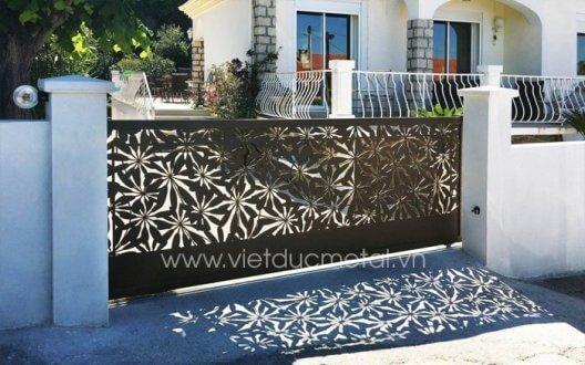Mẫu cổng rào sắt đẹp