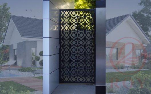 Mẫu cửa cổng sắt 1 cánh đẹp