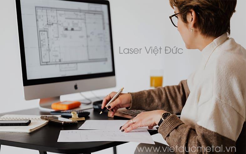 Gia công soi rãnh, bào rãnh V CNC kim loại: Phân tích bản vẽ khách hàng