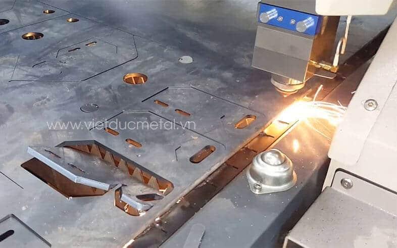 Báo giá cắt laser cnc kim loại