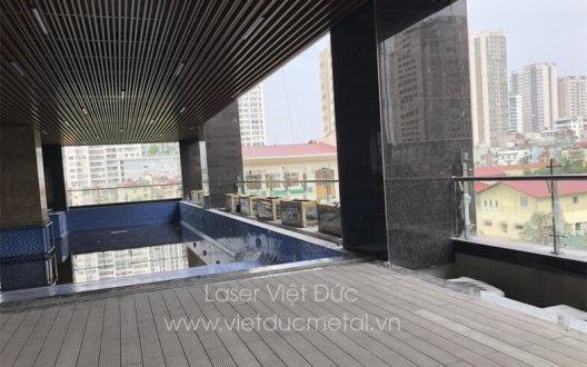 Dự án tổ hợp trung tâm thương mại nhà thầu THT Việt Nam thi công