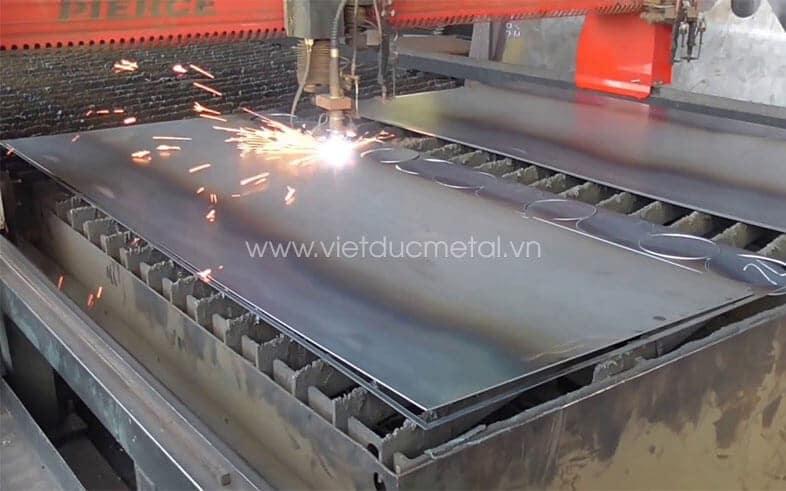 Cắt thép tấm, cắt CNC thép tấm
