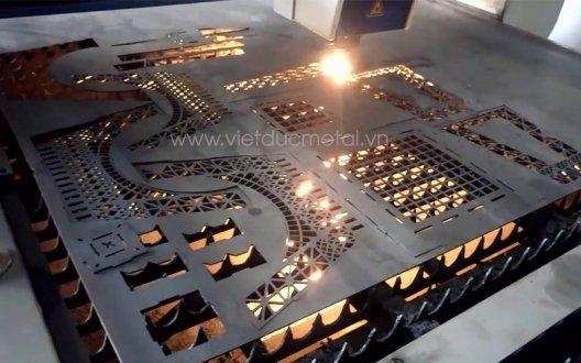 Cắt CNC: Inox, sắt, thép, nhôm, đồng theo yêu cầu tại Hà Nội