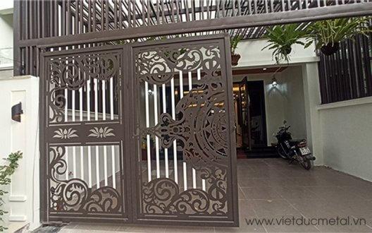 Mẫu cổng cắt CNC cho biệt thự đẹp không thể bỏ qua