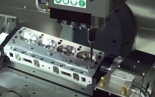 Tổng quan về quy trình gia công máy phay CNC hiện đại